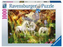 Ravensburger Puzzle Einhoerner im Herbst 1000 Teile