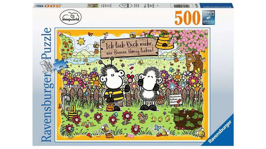 Ravensburger Puzzle Bienenliebe 500 Teile