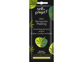 Selfie Project Aktiv Reinigendes Peeling Hanf