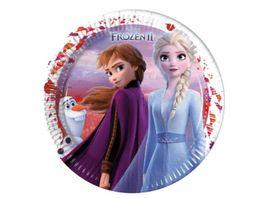 Procos Frozen II Party Teller 23 cm 8 Stueck