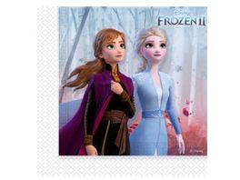 Procos Frozen II Party Servietten 33 x 33 cm 20 Stueck