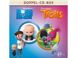 Boss Baby Trolls Doppel Box Kino Hoerspiele