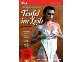 Teufel im Leib Il diavolo in corpo Legendaeres Erotikdrama mit Maruschka Detmers Pidax Film Klassiker