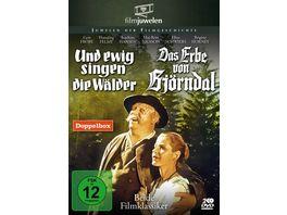 Und ewig singen die Waelder Das Erbe von Bjoerndal Doppelbox Filmjuwelen 2 DVDs