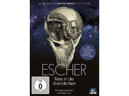 M C Escher Reise in die Unendlichkeit