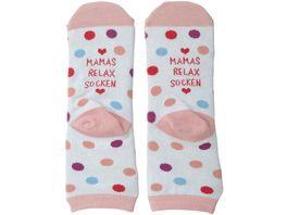 GRUSS CO Zaubersocken Mamas Relax Socken