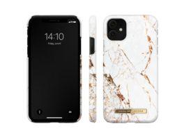 IDEAL OF SWEDEN Fashion Case iPhone 11 XR Carrara Gold