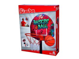 Simba Basketball Korb Set