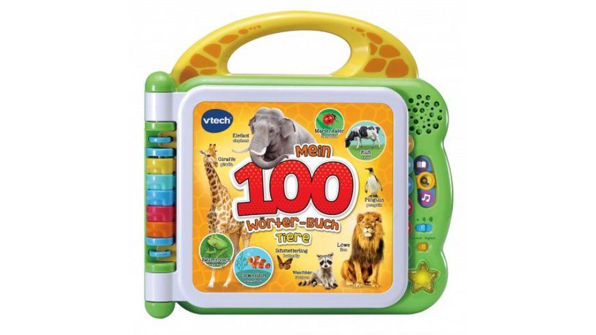 VTech - Baby - Mein 100-Wörter-Buch: Tiere
