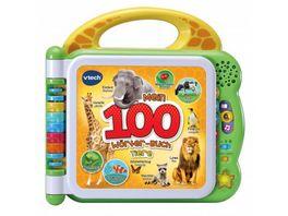 VTech Baby Mein 100 Woerter Buch Tiere