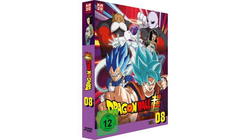 Dragon Ball Super DVD Box Vol 8 Episoden 113 131 3 DVDs