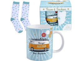 H PPYlife Tassen Socken Set Bus