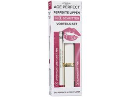 AGE PERFECT MAKE UP von L Oreal Paris Lippen Set Helen Mirren