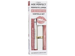 AGE PERFECT MAKE UP von L Oreal Paris Lippen Set Jane Fonda