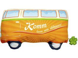 GRUSS CO Figuerliches Kissen Bus
