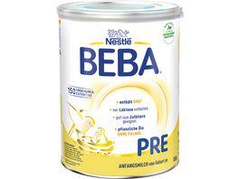 Nestle BEBA Pre von Geburt an