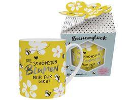 H PPYlife XL Tasse mit Blumensamen Die schoensten Blumen nur fuer Dich