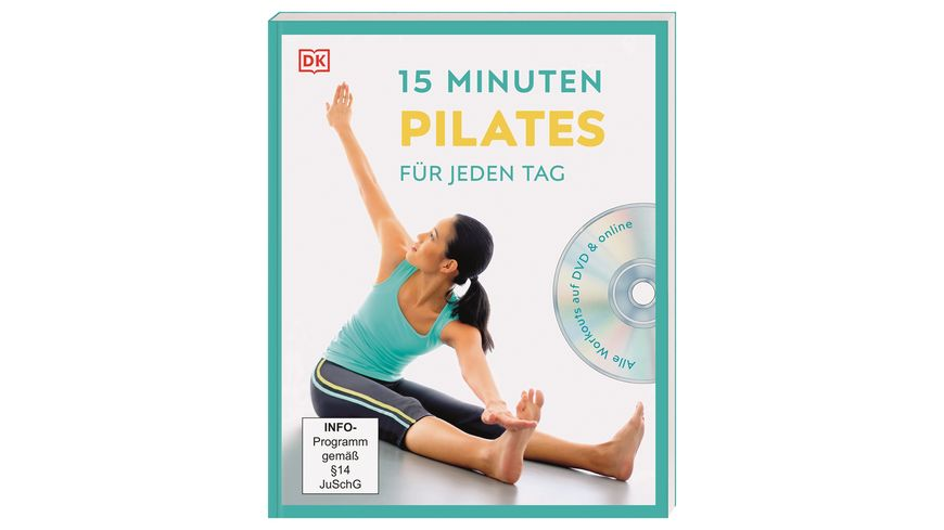 15 Minuten Pilates für jeden Tag