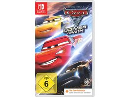 Cars 3 Driven to Win Code in a Box