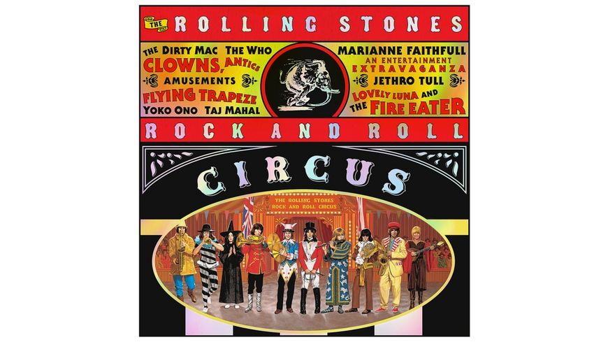The Rolling Stones Rock And Roll Circus 3LP