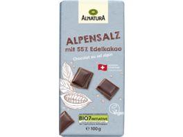 Alnatura Alpensalz Schokolade 100g