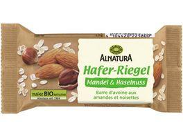 Alnatura Bio Haferriegel mit Mandeln und Haselnusskernen