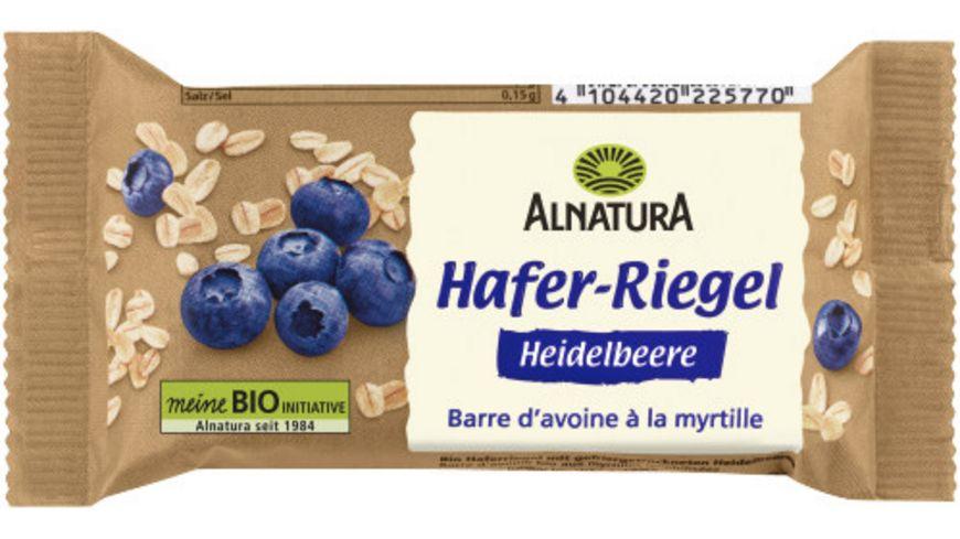 Alnatura Bio Haferriegel mit Heidelbeere