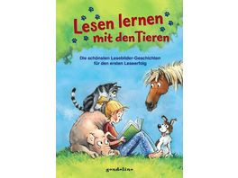 Lesen lernen mit den Tieren Die schoensten Lesebildergeschichten fuer den ersten Leseerfolg