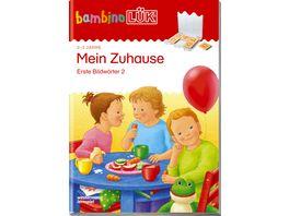 bambinoLUeK Uebungshefte bambinoLUeK Kindergarten 2 3 Jahre Mein Zuhause