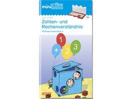miniLUeK Uebungshefte miniLUeK Vorschule Vorschule 1 Klasse Mathematik Zahlen und Rechenverstaendnis