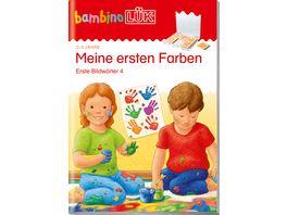 bambinoLUeK Uebungshefte bambinoLUeK Kindergarten 2 3 Jahre Meine ersten Farben