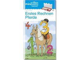 miniLUeK Uebungshefte miniLUeK Vorschule Vorschule 1 Klasse Mathematik Pferde Erstes Rechnen