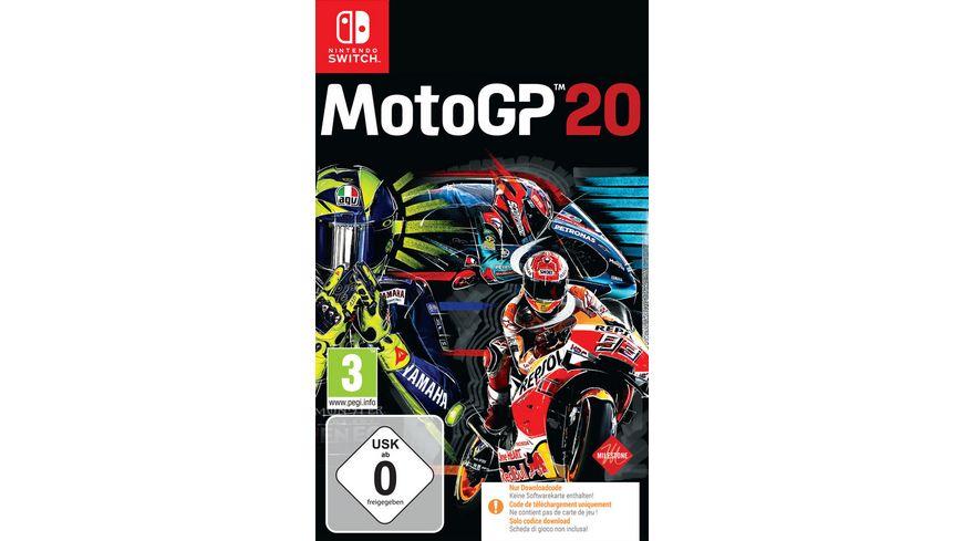 Motogp 20 Code In A Box Online Bestellen Muller