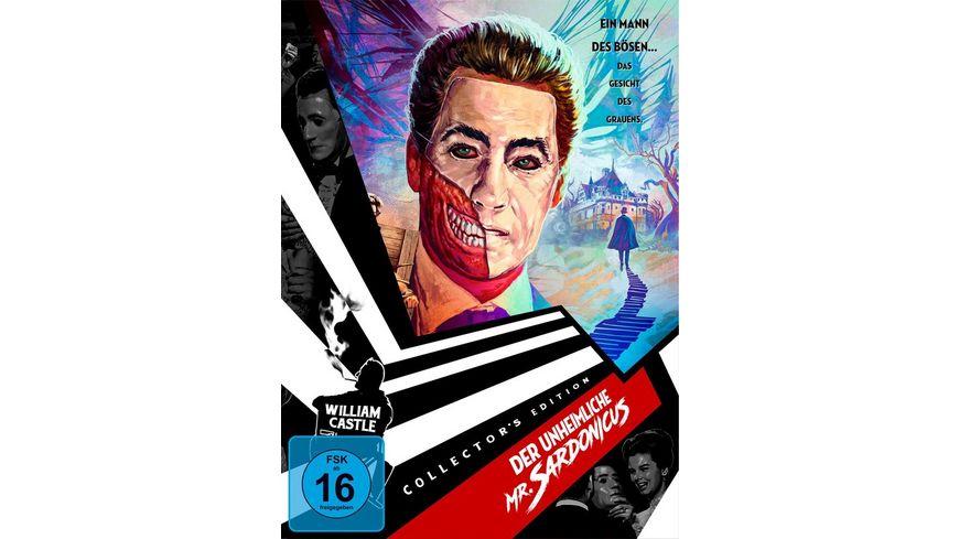 Der unheimliche Mr Sardonicus William Castle Collection 1 DVD