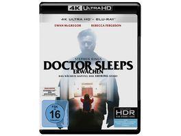 Stephen Kings Doctor Sleeps Erwachen 4K Ultra HD 2 Blu rays 2D