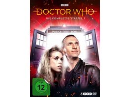 Doctor Who Staffel 1 5 DVDs