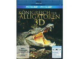 Koenigreich der Alligatoren inkl 2D Vers