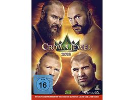 WWE Crown Jewel 2019 2 DVDs