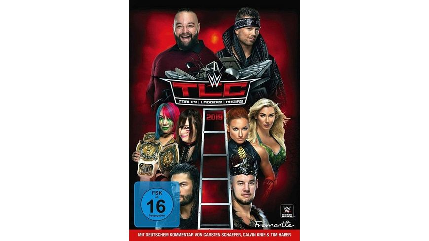 WWE TLC 2019 Tables Ladders Chairs 2019