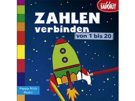 Zahlen verbinden von 1 20 Happy Kids Books