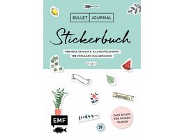 Bullet Journal Stickerbuch Band 2