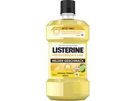 LISTERINE Mundspuelung Fresh Ginger Lime