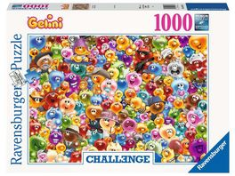 Ravensburger Puzzle Ganz viel Gelini 1000 Teile