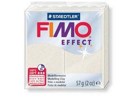 FIMO 8020 08 effect Ofenhaertende Modelliermasse metallic perlmut
