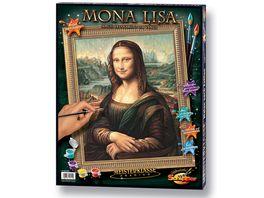 Schipper Malen nach Zahlen Motiv Gruppe Premium Mona Lisa
