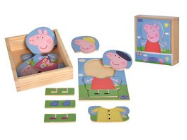Eichhorn Peppa Pig Umziehpuzzle 14 Teile