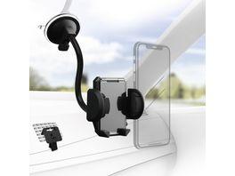 Hama Universal Smartphone Halter Set fuer Geraete mit einer Breite von 4 11 cm