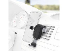 Hama Uni Smartphone Halter Gravity fuer Geraete mit Breite von 5 5 8 5 cm