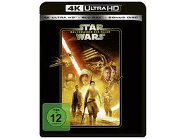 Star Wars Das Erwachen der Macht Line Look 2020 4K Ultra HD Blu ray 2D Bonus Blu ray