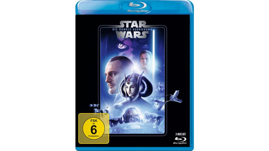 Star Wars Episode 1 Dunkle Bedrohung Bonus Blu ray